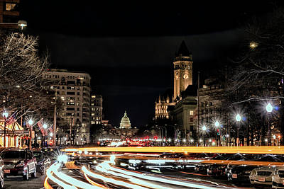 Photograph - Capitol Landscape by Travis Rogers
