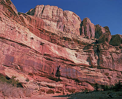 Photograph - Capitol Reef Grand Wash 1 by Tom Daniel
