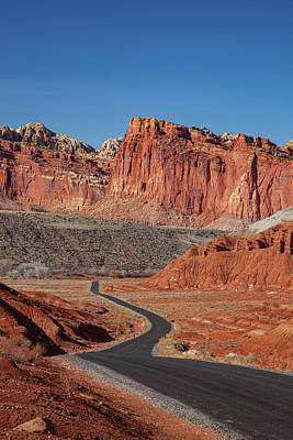 Photograph - Capitol Reef Scenic Drive Tall by Al Hann
