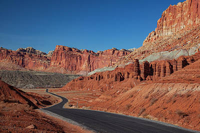 Photograph - Capitol Reef Scenic Drive Wide by Al Hann