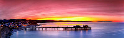 Photograph - Capitola Pastels by Sean Davey