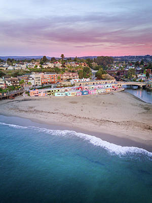 Photograph - Capitola Village by Seascaping Photography