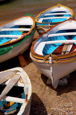 Photograph - Capri Boats by Brian Jannsen