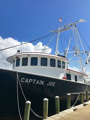 Photograph - Captain Joe by Norma Brock