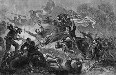 Capture Of Roanoke Art Print by Kean Collection