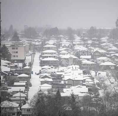 Photograph - Car In Snow by Juan Contreras