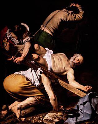 Photograph - Caravaggio - Crucifixion Of Saint Peter by Weston Westmoreland