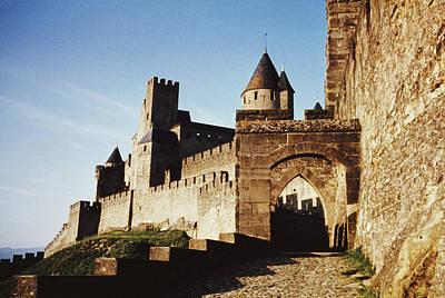 Carcassonne Art Print by Archive Photos
