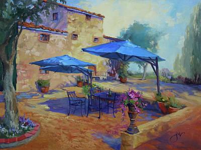Painting - Cardella Winery by Jeri McDonald