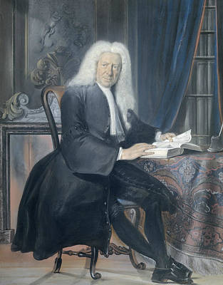 Pastel - Carel Bouman by Cornelis Troost