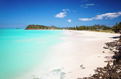 Antilles Photograph - Caribbean Beach With Perfect Sky by Michaelutech