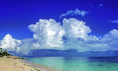 Photograph - Caribbean Clouds by Sun Travels