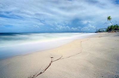 Photograph - Caribbean Waters by Nadia Sanowar