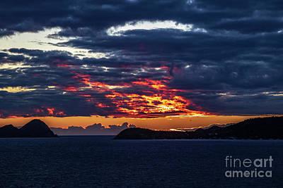 Photograph - Caribbean Sunrise I by Thomas Marchessault