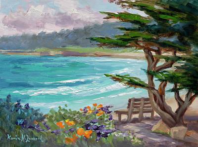 Carmel Beach View Original