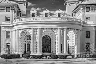Photograph - Carnegie Mellon University Margaret Morrison Carnegie Hall by University Icons