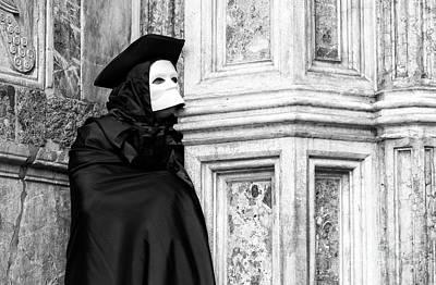 Photograph - Carnival Casanova In Venice by John Rizzuto