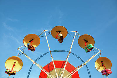 Photograph - Carnival Fan by Todd Klassy