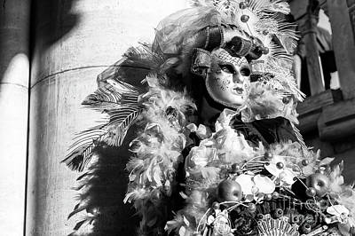 Photograph - Carnival Glamour 2015 In Venice by John Rizzuto