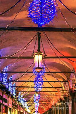Photograph - Carnival Lights Venice by John Rizzuto