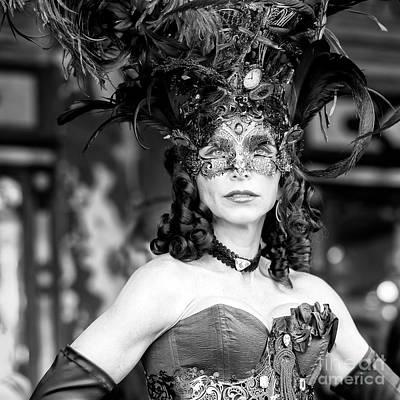 Photograph - Carnival Look Venice by John Rizzuto