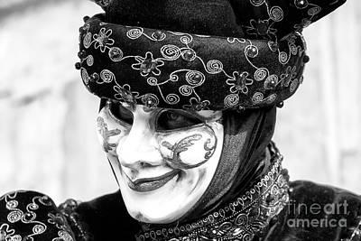 Photograph - Carnival Smile In Venice by John Rizzuto