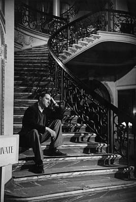 Photograph - Carol On Stairs by Bert Hardy