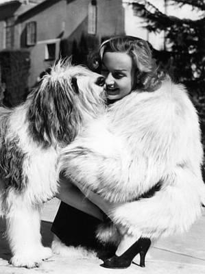 Photograph - Carole Lombard by Keystone