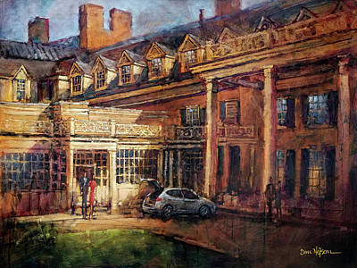 Painting - Carolina Inn by Dan Nelson