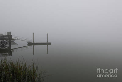 Photograph - Carolina Ocean Fog by Dale Powell