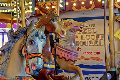 Photograph - Carousel Friends by Kristia Adams