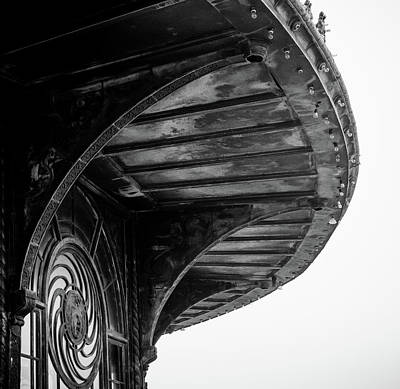 Photograph - Carousel House Detail by Steve Stanger