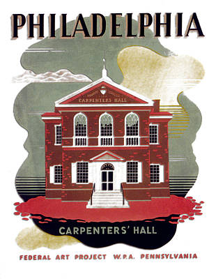 Digital Art - Carpenter Hall - Philadelphia - Remastered by Carlos Diaz