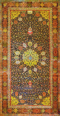 Wall Art - Tapestry - Textile - Carpet #1 by Ron Morecraft