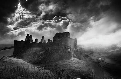 Photograph - Carreg Cennen 3 by Phil Fitzsimmons
