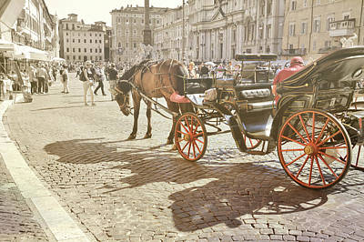 Photograph - Carriage And Cobblestone by JAMART Photography