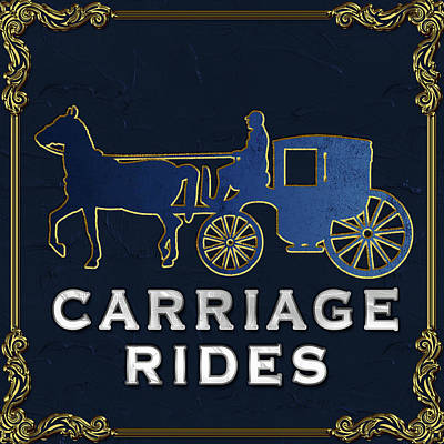 Photograph - Carriage Rides Gallery by Carlos Diaz