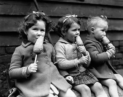 Photograph - Carrots On Sticks by Ashwood