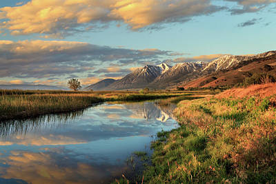 Photograph - Carson Valley Sunrise by James Eddy