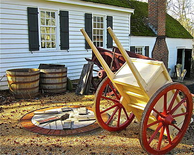 Photograph - Cart Wheels by Don Moore