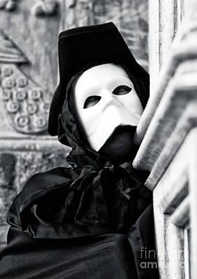 Photograph - Casanova Profile In Venice by John Rizzuto