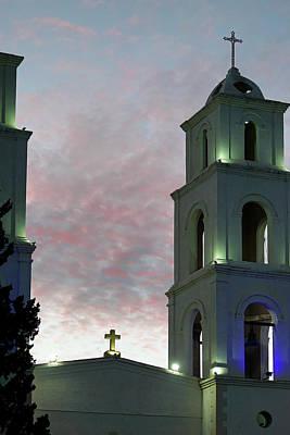 Photograph - Casas Grandes San Antonio Templo by Jeff Brunton