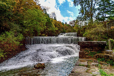 Photograph - Cascade Mills Waterfall by William Norton