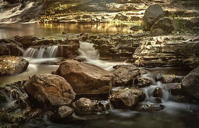 Photograph - Cascading Creek  by Saija Lehtonen