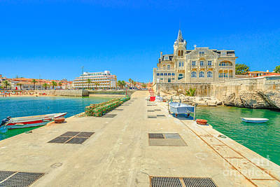 Photograph - Cascais Seafront And Pier by Benny Marty