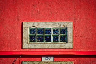 Photograph - Cascais Transom Window - Portugal by Stuart Litoff