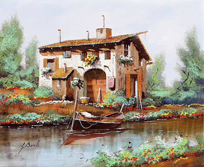 Royalty-Free and Rights-Managed Images - cascina RA by Guido Borelli