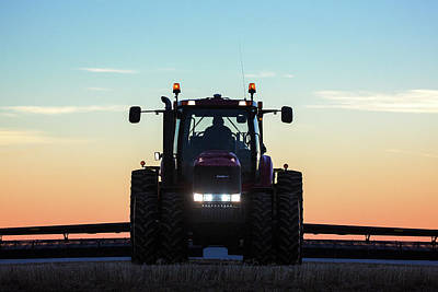 Photograph - Case Ih Head On by Todd Klassy
