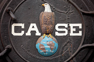 Photograph - Case Logo by Todd Klassy