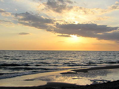 Soap Suds - Caspersen Beach Sunset 000  by Chris Mercer